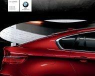 The new BMW X6 X6 xDrive35i X6 xDrive50i X6 xDrive30d X6 ...