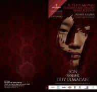Sempozyum programı - Dilleri ve - Hacettepe Üniversitesi