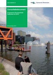 Programma Duurzaamheid - De Groene Rekenkamer