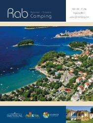 Camping - Campsites at Rab, camping - Imperial.hr