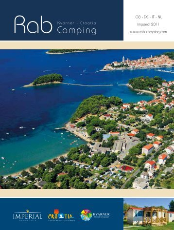 Camping - Campsites at Rab, camping - Imperial.hr