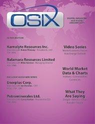 Osix Media Digital Magazine – January 2014 - Balamara Resources