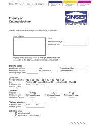 11-994-001 inquiry fcm.cdr - Zinser Schweisstechnik GmbH