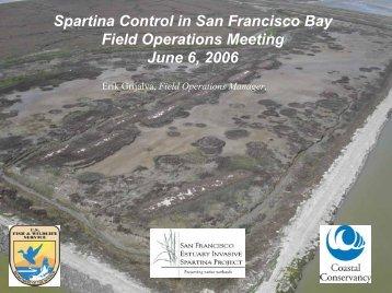 Spartina Treatment Impact Analysis - San Francisco Estuary ...