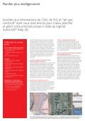 Planification plus intelligente. Gestion améliorée. AutoCAD ... - AriCad - Page 2