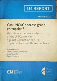 Can UNCAC address grand corruption? - CMI