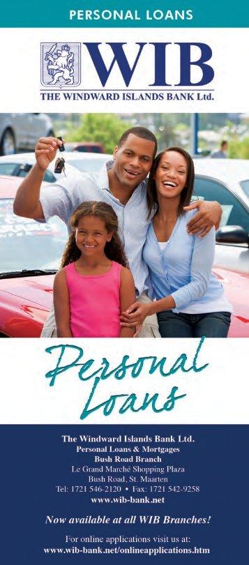 Personal Loans Brochure