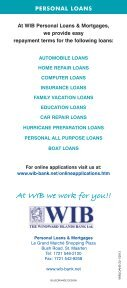 Personal Loans Brochure - Page 4