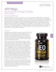 xEO Mega - dōTERRA - Essential Oils