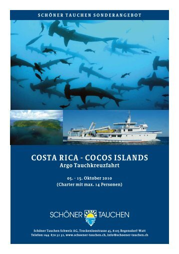 COSTA RICA - COCOS ISLANDS Argo Tauchkreuzfahrt