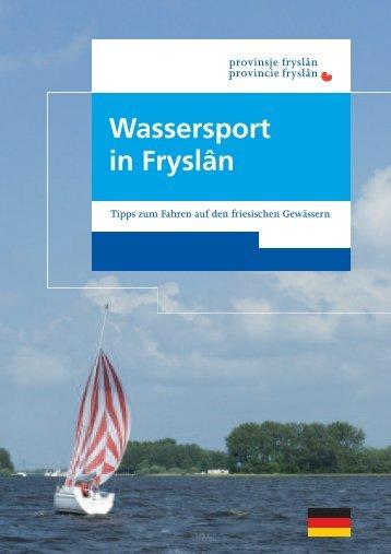 Wassersportbrochure - Friesland