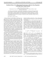 Oscillation Modes of Two-Dimensional Nanostructures ... - TDDFT.org