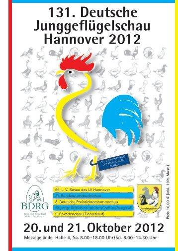 131. Deutsche Junggeflügelschau Hannover 2012 - SV der Eistauben