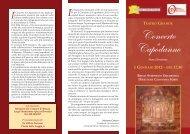 Concerto di Capodanno IX edizione - Agriturismo e bed and ...
