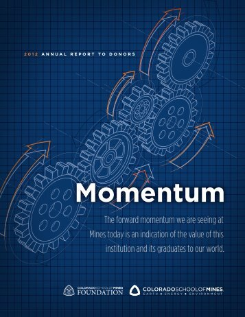 Momentum - Give to Mines - Colorado School of Mines