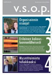 Puhdasta palvelua 3 Organisoinnin osaajat ... - Manialehti.fi