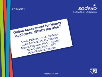 Online Assessment for Hourly Applicants: What's the Risk? - IPAC