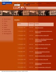 WDR-dok Das Archiv - tilet