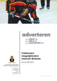 adverteren - Royal Belgian Ice Hockey Federation