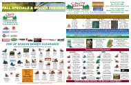 fall specials & winter preview - Cherry  Valley Landscape Center