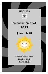 Summer School Brochure.pdf - West High School