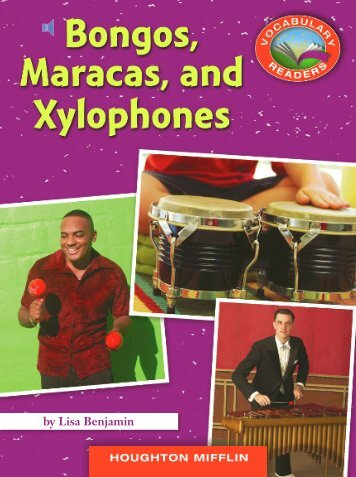 Lesson 12:Bongos, Maracas, and Xylophones