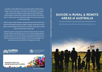 SUICIDE in RURAL & REMOTE AREAS of AUSTRALIA - Living is for ...