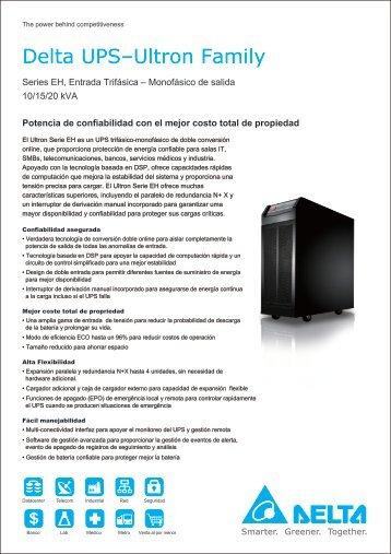 Serie EH 10/15/20 kVA - DELTA Power Solutions