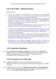 125. § 32a VOB/A - Baukonzessionen - Oeffentliche Auftraege