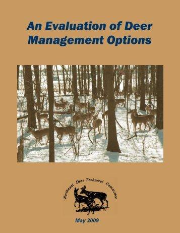 An Evaluation of Deer Management Options - Delaware Department ...