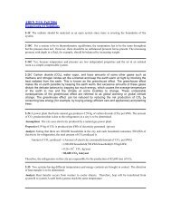 2-1C The radiator should be analyzed as an open system since ...