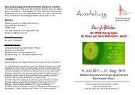 Ausstellung von Acryl-Bildern der - Verbundkrankenhaus Bernkastel ...