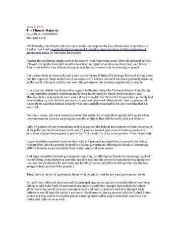 Krosnick_The Climate Majority.pdf - Climate Access