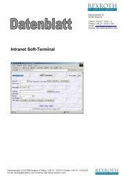 Datenblatt Modul Webterminal