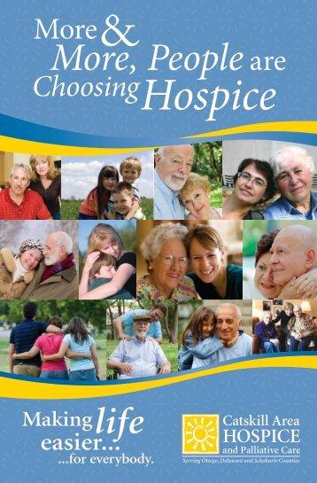 Hospice - Catskill Area Hospice and Palliative Care