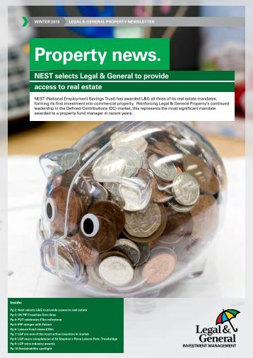 Property news. - Legal & General Investment Management