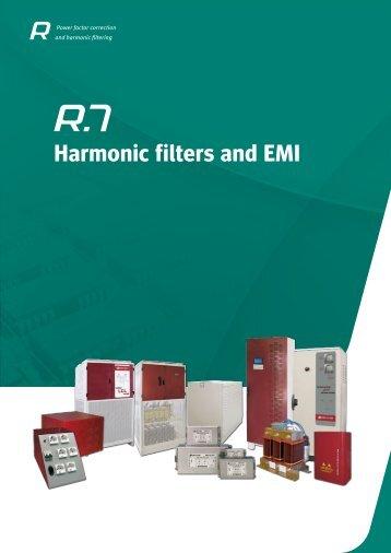 Harmonic filters and EMI - Circutor