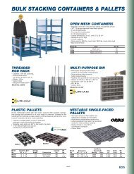 bulk stacking containers & pallets - DABCO Industrial Supplies