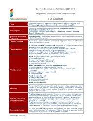 IPA-Adriatico - Fondi Europei 2007-2013