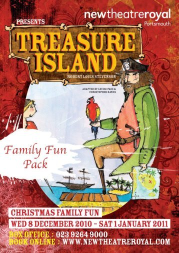 Treasure Island Family Pack (PDF) - New Theatre Royal