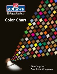 Color Chart - Mohawk Finishing Products