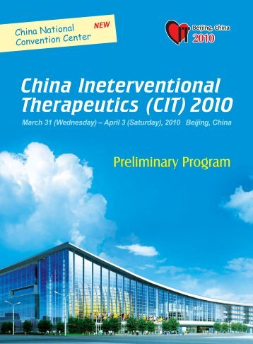 China Ineterventional Therapeutics (CIT) 2010 - Home-CIT ...