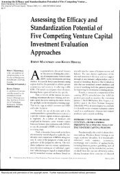 Assessing the Efficacy and Standardization Potential of Five ...