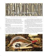 Issue #6 - NA Taransky Bamboo Rods