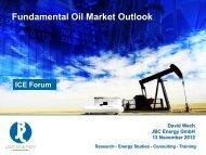 Fundamental Oil Market Outlook - ICE