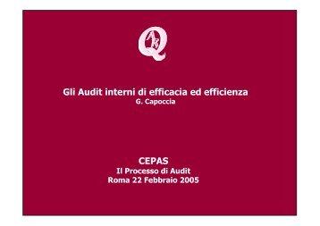 Giorgio Capoccia - Cepas