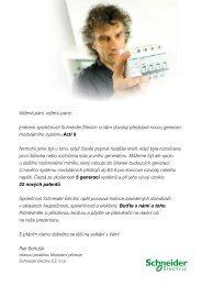 Stáhněte si pozvánku - Schneider Electric CZ, s.r.o.