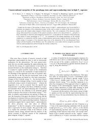 Unconventional energetics of the pseudogap state and ...