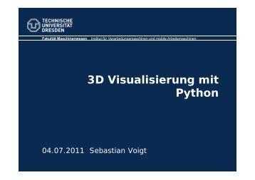 3D Visualisierung mit Python