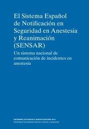 El Sistema Español de Notificación en Seguridad en ... - Asecma